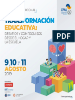 Curso Internacional Transformación Educativa 2019