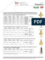 Victor Equipment Meco Thermadyne Industrial Cylinder Pressure Regulator BriceBarclay Bulletin