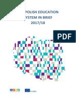 Education System in Poland 2017 2018 En