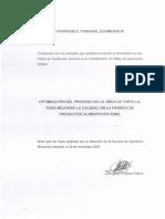 Optimización Línea Tortilla Tesis 2008