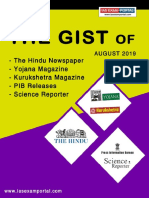 The Gist August 2019 - Ias Exam Portal