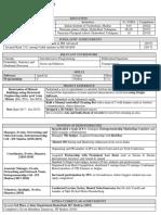 Resume Draft for sophomore