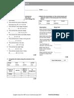 ECA2plus Tests Vocabulary Check 3A