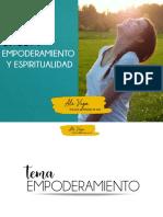 Empoderamiento y Espiritualidad Presentación PPT
