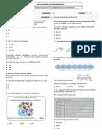 Evaluacion 3PERIODO DE 4° MATEMATICA 2019 LISTO