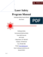 Laser safety manual