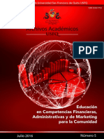 Educacion en competencias financieras