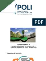 3. Alternativas Para La Sostenibilidad y Empresa