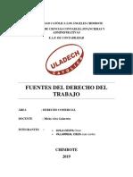 Fuentes Del Derecho Laboral 2019 II 1