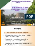 El Comercio de Servicios CEPAL