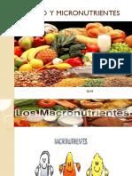 Clase 5 Macro y Micronutrientes