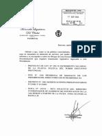 Chubut-Proyecto Incremento Salarial Planta Politica