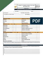 Plfhseq-138 Formato de Inspeccion de Vias Para Movilizacion