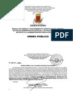 Manual de Orden Publico