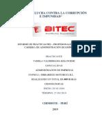 Informe de Prácticas en la Empresa Isrrariego Motors E.I.R.L