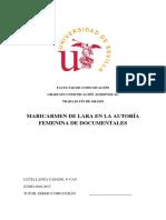 Maricarmen de Lara Por Lucía Lanza Casado