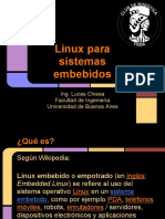 Linux Para Sistemas Embebidos SASE 2012