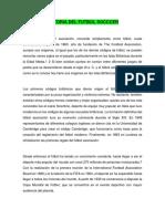 Historia Del Futball Socccer