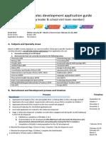 Boston_IBEN Initial Roles Development Application Guide