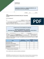 Formulario Para Registro de Directiva y Administradores