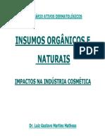 Insumos organicos e naturais