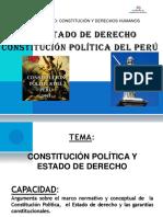03 El Estado de Derecho y Constitucion