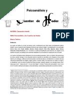 161106 Psicoanálisis y Cuentos de Hadas - Copia