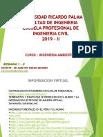 Expo Ingenieria Ambiental Semana 1 y 2 .Pptx 2019 II