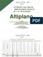 Boletin Altiplano 01 10 Marzo 2019
