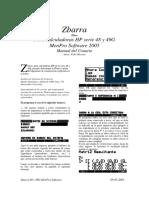 Manual de Zbarra