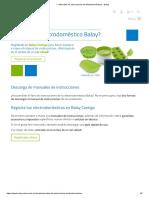 ▷ Manuales de Instrucciones de Electrodomésticos - Balay
