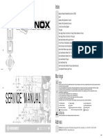 General Music Equinox Service Manual