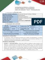 Guía de Actividades y Rúbrica de Evaluación - Fase 2 - Contextualización