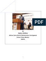 ODINGA SPEECH Public-Private Partnerships Conference 2019