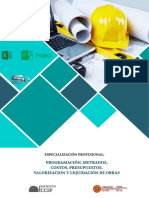 PROGRAMACIÓN, METRADOS, COSTOS, PRESUPUESTOS, VALORIZACIONES Y LIQUIDACIONES DE OBRAS.pdf