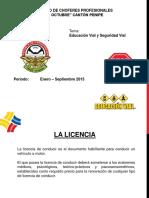 Educación Vial Licencia