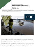 Como a Amazônia Está Perdendo Água, Segundo Este Estudo - Nexo Jornal