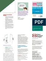 folleto Registro mercantil