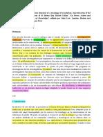sociología de la traducción de Callón