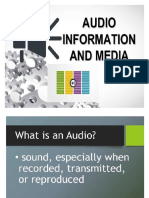 Mil- Audio Information and Media