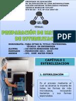 Preparacion de Materiales de Esterilización