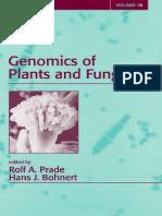 Genomics of Plants and Fungi - Prade and Bohnert