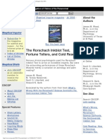 Skeptical-Inquirer_Rorschach Inkblot Test, Fortune Tellers, And Cold Reading (Skeptical Inquirer July 2003)