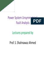 Unsymmetrical Fault Analysis