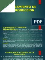 7. Planeamiento de La Produccion