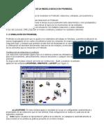 Construccion y Ejecucion Modelo Basico Promodel