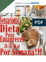 Dieta Sensacional Para Perder de 3 a 5 Kg Por Semana-1