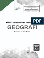 Geografi 12 Edisi 2019