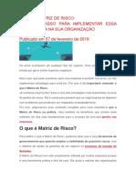 O QUE É MATRIZ DE RISCO.docx
