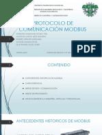 Protocolo de Comunicación Modbus